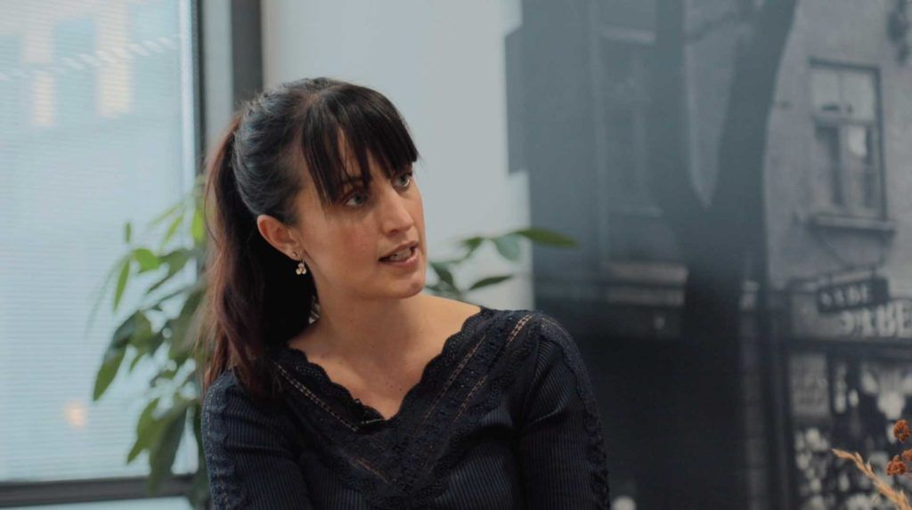 Louise Bomholtz i dialog